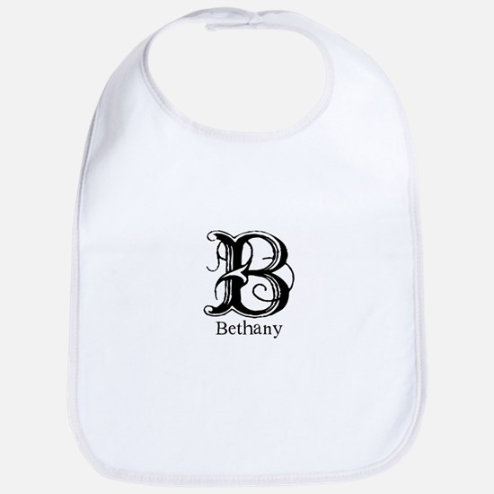 Bethany: Fancy Monogram Bib