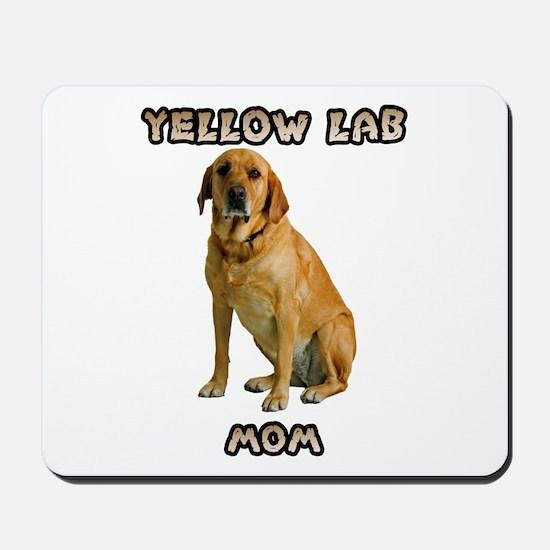 Yellow Lab Mom Mousepad