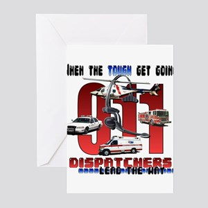 dispatch leads the way Greeting Cards