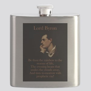 Be Thou The Rainbow - Lord Byron Flask