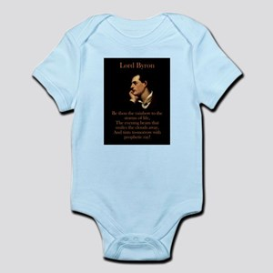 Be Thou The Rainbow - Lord Byron Infant Bodysuit