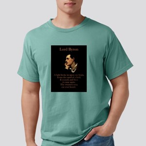 A Light Broke - Lord Byron Mens Comfort Colors Shi