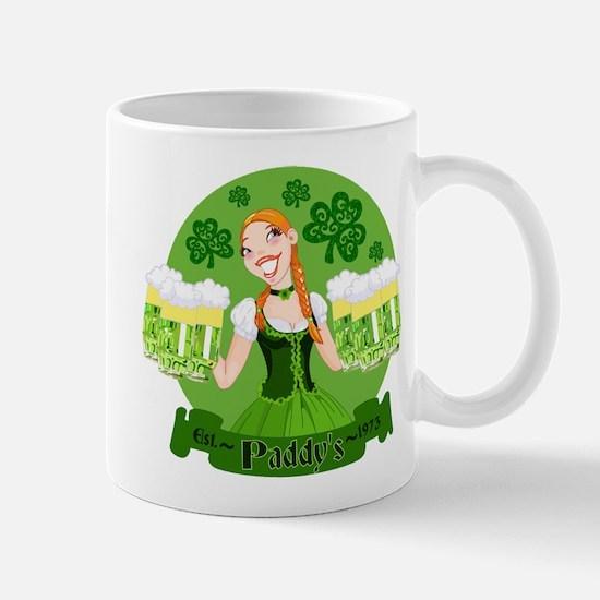 St. Patricks Day pub celebration Mug