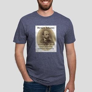 To Be Saint And Sinner - Henry Adams Mens Tri-blen