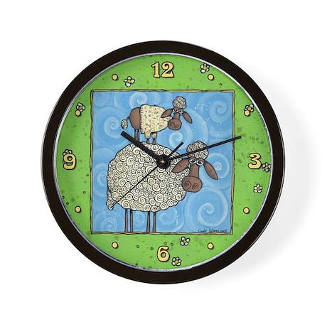 Sheep-stack Wall Clock