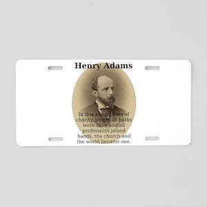 In This Atmosphere - Henry Adams Aluminum License