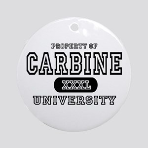 Carbine University Ornament (Round)