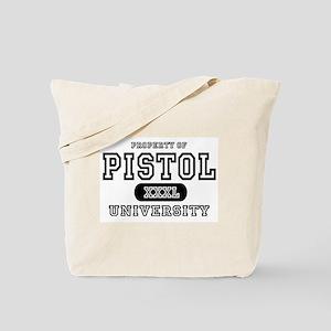 Pistol University Handgun Tote Bag