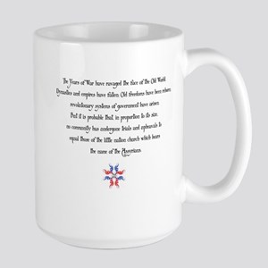 Seyfo Awareness Large Mug