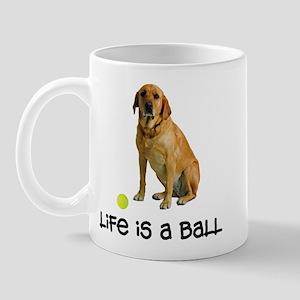 Yellow Lab Life Mug
