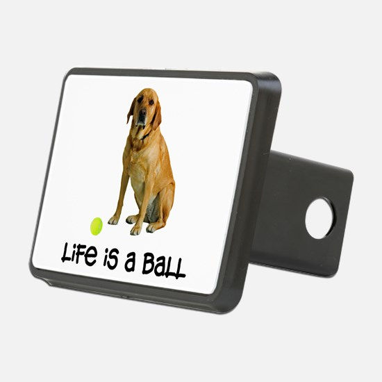 Yellow Lab Life Hitch Cover