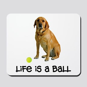 Yellow Lab Life Mousepad
