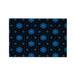 Blue Stars Pattern Rectangle Magnet (10 pack)