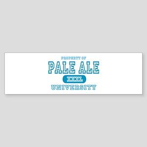 Pale Ale University IPA Bumper Sticker