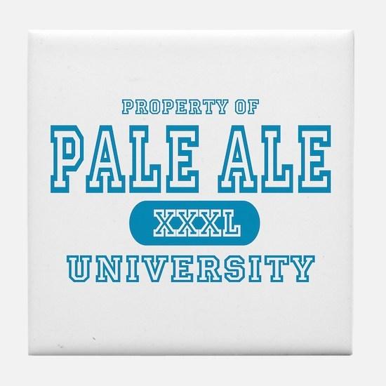 Pale Ale University IPA Tile Coaster