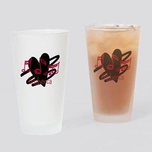 Personalized music and love hearts design Drinking