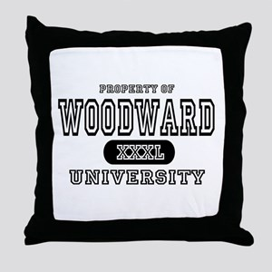 Woodward University Property Throw Pillow