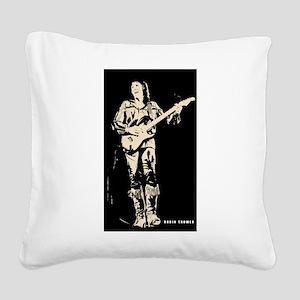 robin trower original art Square Canvas Pillow