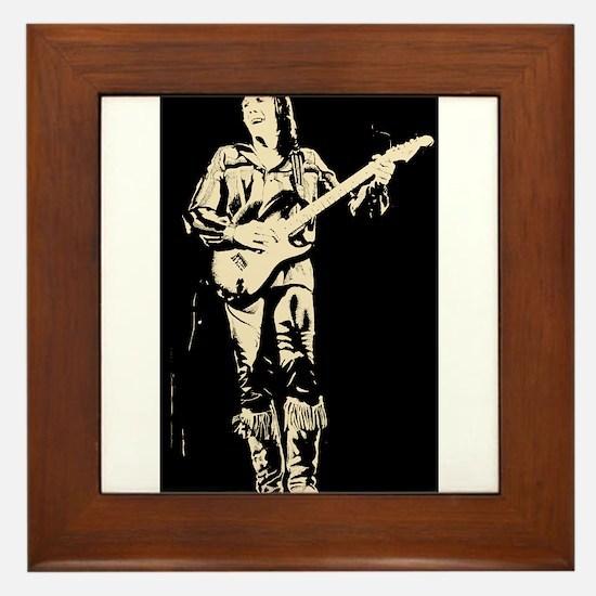robin trower original art Framed Tile