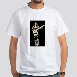 robin trower original art White T-Shirt