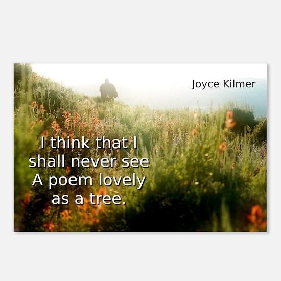 I Think That I Shall Never See - Joyce Kilmer Post