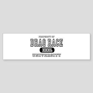 Drag Race University Property Bumper Sticker