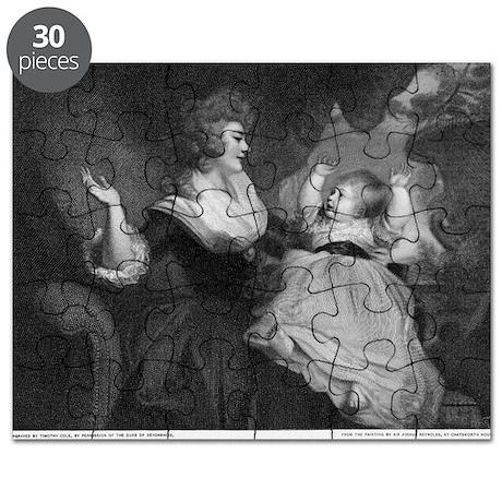 Georgiana, Duchess of Devonshire - Puzzle