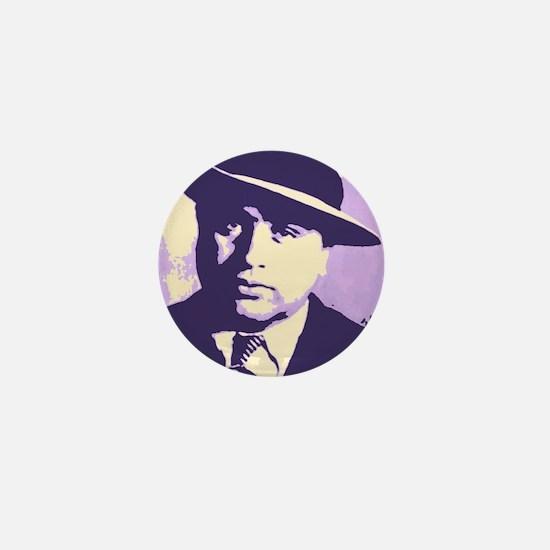 Al Capone Pop Art Mini Button