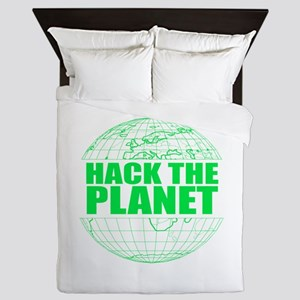 Hack The Planet Queen Duvet