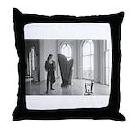 Phyllis Taylor Sparks Harpist, photo Throw Pillow
