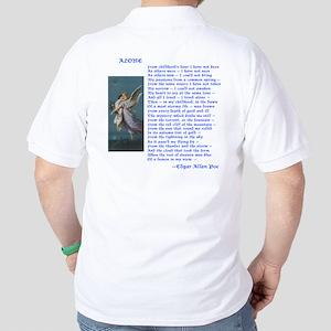 Poe Poem Alone Golf Shirt