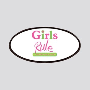 Girls Rule and the boys drool! Patches