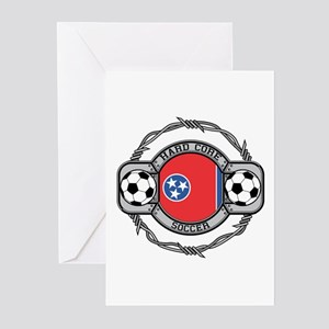 Tennessee Soccer Greeting Cards (Pk of 10)