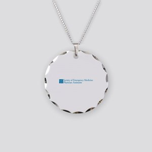 SEMPA Logo Necklace Circle Charm