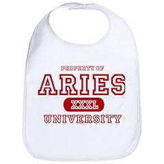 Aries University Property Bib