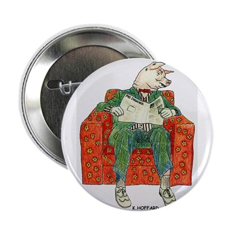 "Pig 2.25"" Button (10 pack)"