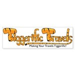 Tiggerific Travels Sticker (Bumper 50 pk)