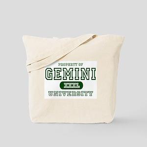 Gemini University Property Tote Bag