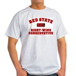 Red State Right-Wing Ash Grey T-Shirt