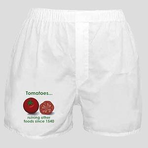 Tomatoes Suck Boxer Shorts