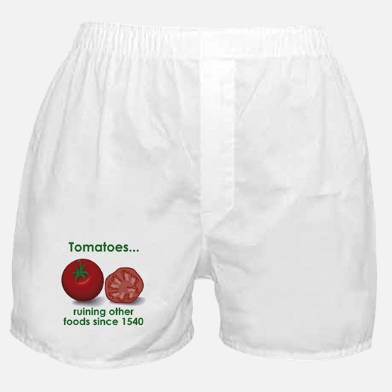 Tomatoes Suck Boxer Shorts