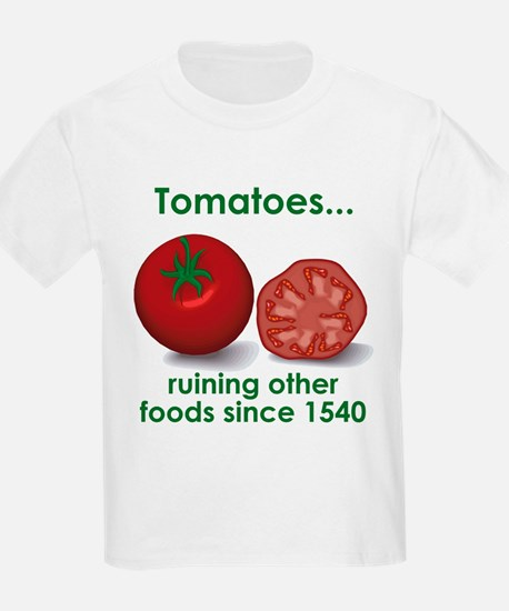 Tomatoes Suck Kids T-Shirt