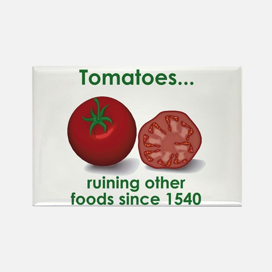 Tomatoes Suck Rectangle Magnet