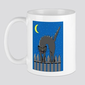 Fraidy Cat Right-handed Mug