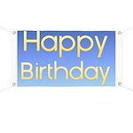 Happy Birthday Banner Banner