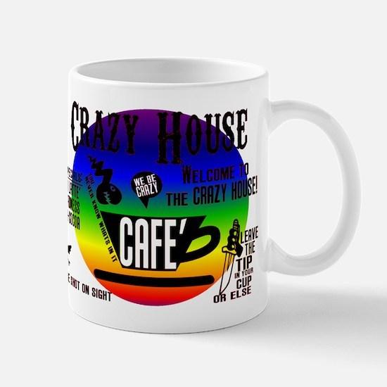 The CRAZY HOUSE CAFE Coffee mug in BROKEBACK Mug