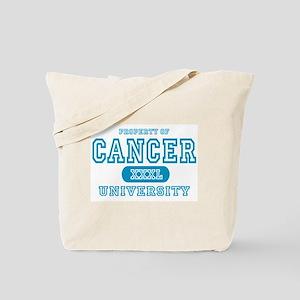 Cancer University Property Tote Bag