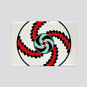Native American Circle of Life Rectangle Magnet
