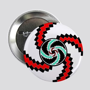 "Native American Circle of Life 2.25"" Button"