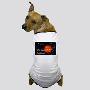 Suppose The Chariot Of The Sun - Ovid Dog T-Shirt